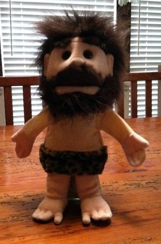 Puppet-caveman