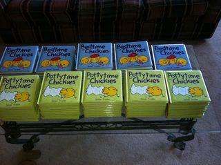 Chickies books
